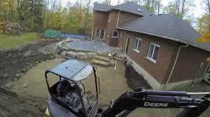 backyard make over time lapse youtube