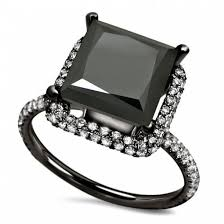 big stones rings images Jewels evolees 3 20ct big princess cut black jpg
