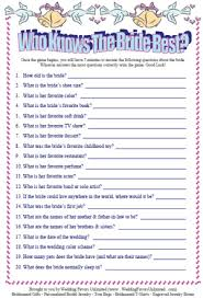 bridal shower question shining design bridal party ideas shower trivia questions free
