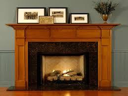wood fireplace mantel kits with classy fireplace surround facing