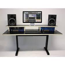 studio workstation desks studio desks az 2 maple keyboard studio desk