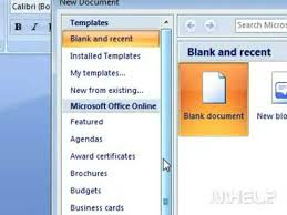 how to get resume template on word how to create a resume in microsoft word 2007
