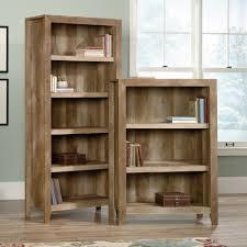 Sauder 3 Shelf Bookcase Dakota Pass 3 Shelf And 5 Shelf Bookcase Ps1104 Sauder