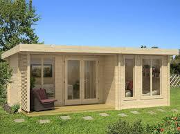 bureau de jardin pas cher abris de jardin 20m2 toit plat les cabanes de jardin abri de