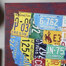 License Plate Map Usa Map License Plates