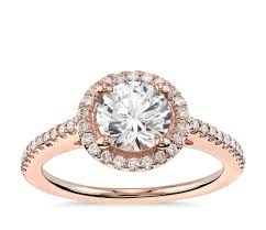 gold diamond engagement rings classic halo diamond engagement ring in 14k gold 1 4 ct tw