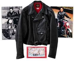 all black motorcycle jacket lot detail elvis presley worn black leather harley davidson