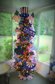 memorial day tree 4th of july tree patriotic tree usa 4th of