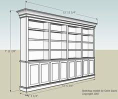 Free Bookshelves How To Build A Bookcase Step By Step Woodworking Plans
