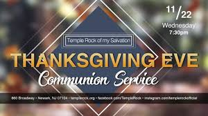 communion service temple rock of my salvation a g newark
