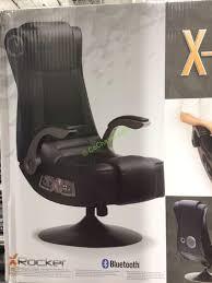 Pedestal Gaming Chairs Costco 1049168 X Rocker Bluetooth Pedestal Gaming Chair Part3