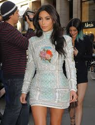 Designer K Hen Kim Kardashian Out In Paris For Rumored Hen Do Mirror Online