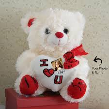 Engraved Teddy Bears Send Personalized Teddy Bear To India Online Buy Personalized