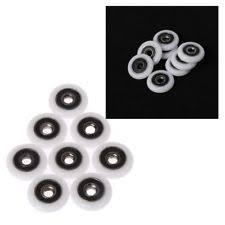 Replacement Shower Door Wheels 4 Shower Door Rollers Runners Wheels Replacement Parts A323 Ebay