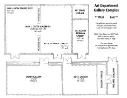 Csulb Campus Map Csulb Of Art Students Gallery Guidelines Floorplans