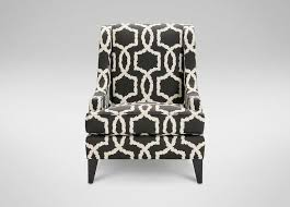 Geometric Accent Chair Modern Upholstered Grey And White Accent Chair