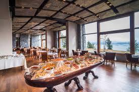 Restaurant Buffet Table by Cena Buffet En La Cravia Restaurant Arakur Ushuaia Resort