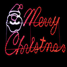 charming design merry light sign celebrations rope outdoor