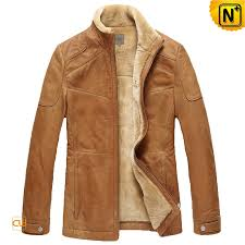 Cowhide Leather Vest Mens Fur Lined Cowhide Leather Jacket Cwmalls