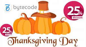 thanksgiving day deals 2017 bytecode
