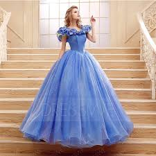 elegant flower cinderella princess lace ball gown 11325604