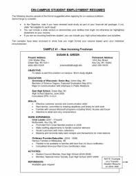 Resume Objective For Barista Examples Of Resumes Job Resume Starbucks Barista Skills Example