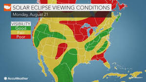 us weather map monday solar eclipse 2017 us weather forecast will there be clear skies