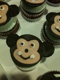 Baby Boy Monkey Theme Photo Baby Shower Cakes With Image