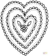 Coloring Pages Hearts Free Coloring Pages Valentine Hearts Wings Page Pencil And In by Coloring Pages Hearts