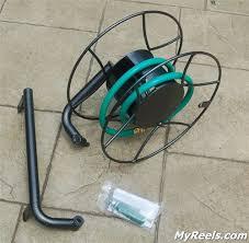 yard butler srwm 180 wall mounted hose reel myreels com