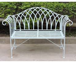 diverting charles bentley wrought iron bentley black bench side 2