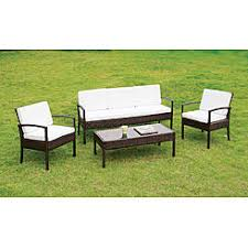 Patio Seating Furniture by Patio Conversation Sets Outdoor Seating Sets Kmart