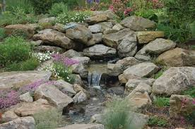 Water Rock Garden Water Feature Rock Garden Farm