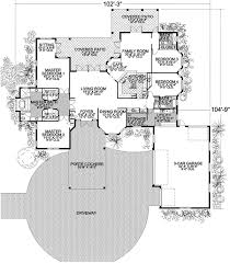 Floor Plans With Two Master Bedrooms Two Master Bedrooms 32125aa Architectural Designs House Plans