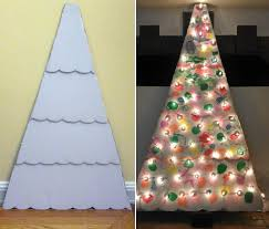 cardboard box top christmas tree template christmas pinterest