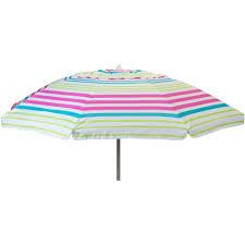 Lightweight Beach Parasol Destinationgear 7 U0027 Beach Umbrella Pink Stripe With Travel Bag