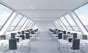 bureau lumineux lieux de travail dans un bureau loft lumineux et moderne tables