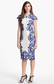 white dress blue lace a wonderful start u2013 always fashion