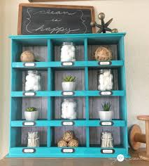 Hobby Lobby Shelves by Old Drawer Cubby Organizer My Repurposed Life