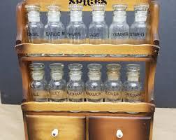 Vintage Wooden Spice Rack Wooden Spice Rack Etsy