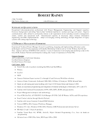 sample career summary for resume general inquiry cover letter