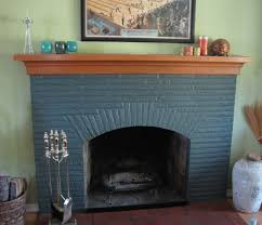 paint fireplace mantle would be white family room kitchen