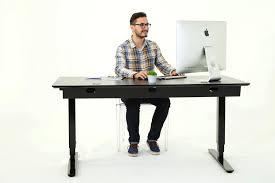 bureau assis debout bureau debout bureau assis debout noir velouté chaise de bureau