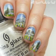 mountain nail art nail nailsart