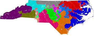 Florida Congressional Districts Map by North Carolina Congress Redistricting