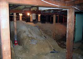 how to turn a crawl space into a short basement chezerbey