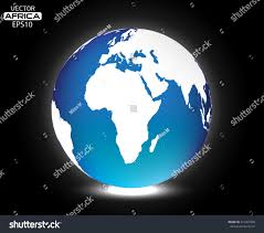 Earth Globe Map World by Vector Earth Globeworld Globe Map Africa Stock Vector 515467990