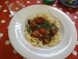 la cuisine des anges la cuisine des anges veal pasta picture of la