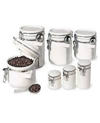 martha stewart kitchen canisters martha stewart collection food storage containers set of 2 square