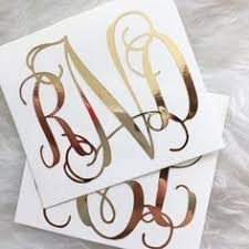 monogram stickers velvetfears instagram mimi dujour